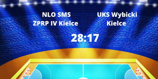 Wynik na plus, ale gra do poprawki. SMS IV Kielce – UKS Wybicki Kielce dla SMSu.