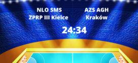 AZS AGH Kraków góruje nad SMS III Kielce