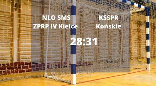 SMS IV Kielce przegrywa z KSSPR Końskie
