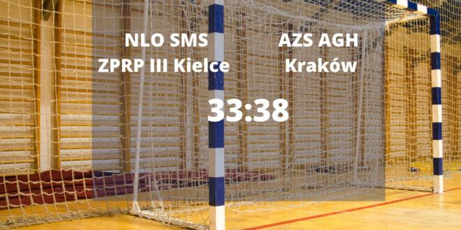 AZS AGH Kraków mocniejsze od SMS III Kielce