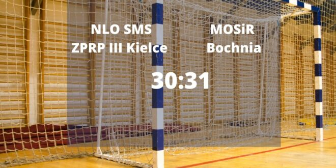 MOSiR Bochnia znów górą – SMS III Kielce pokonane
